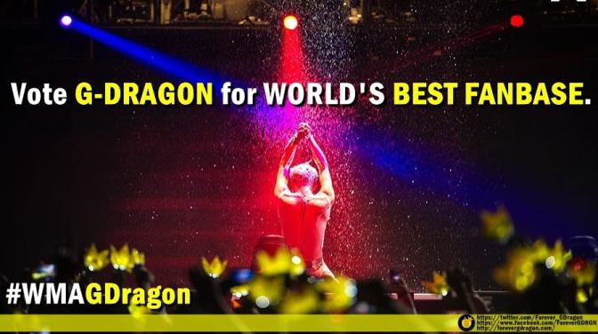 [ADMIN POST] VOTE FOR G-DRAGON IN WORLD MUSIC AWARDS 2014!