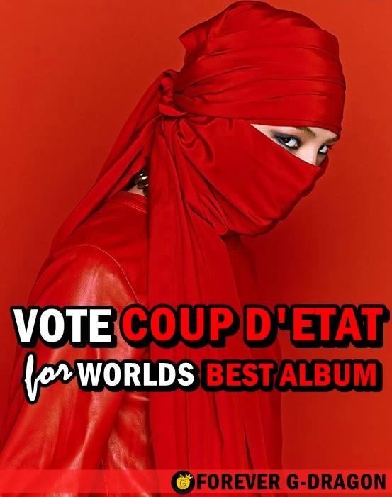[ADMIN POST] VOTE FOR G-DRAGON IN WORLD MUSIC AWARDS 2014!